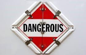 dangerous placard