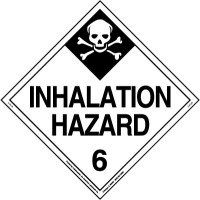 inhalation hazard placard