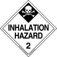 poison gas placard