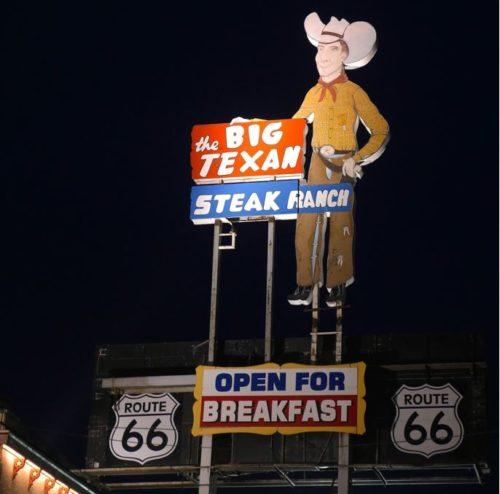 route 66 cowboy