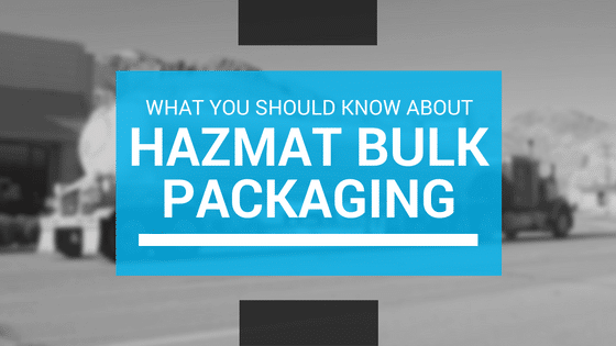 hazmat bulk packaging