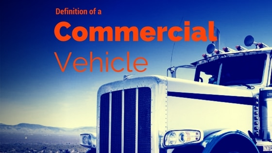 definition of a commercial motor vehicle