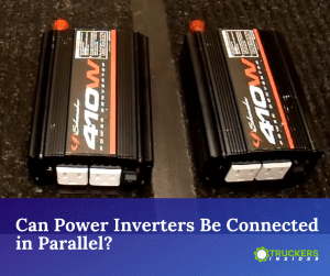 can power invterters be connected in parallel