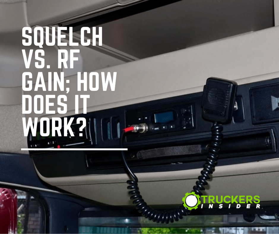 squelch vs rf gain how does it work