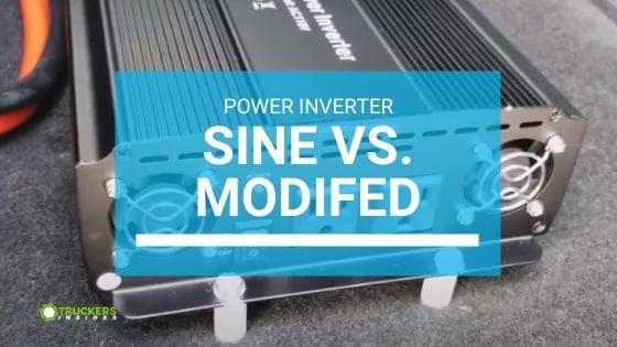 power inverter sine wave vs modified