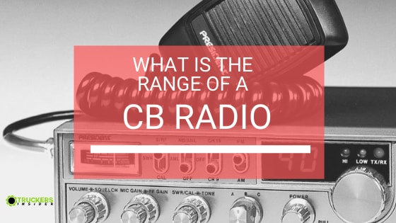 what is the range of a cb radio